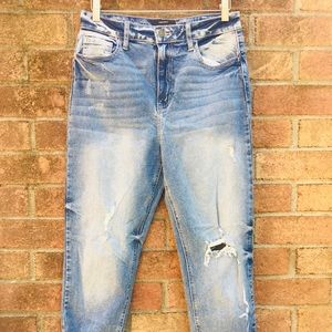 NWOT Forever 21 High Waist Medium Wash Jeans